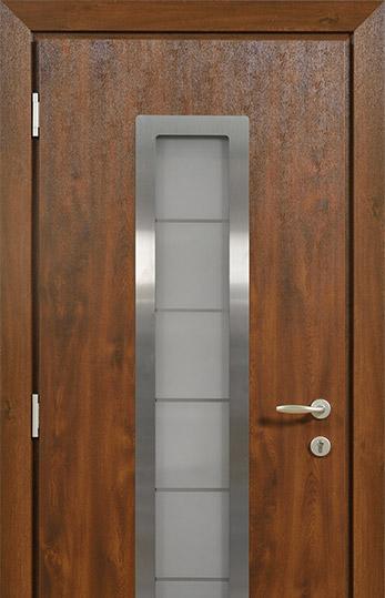 металлическая двери на севере