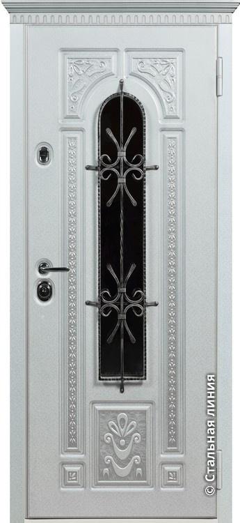 купить белую металлическую дверь в москве